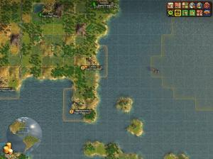 Modded North America from Worldbuilder with closer high seas.
