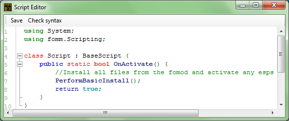 script-editor